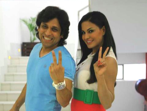 Veena Malik and Rajan Verma MMS Clip Get Millions Of Hit