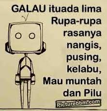 DP Galau BBM, Update Status