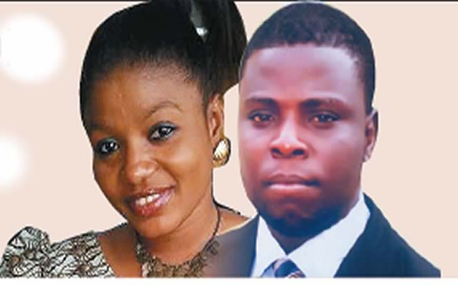 DAVID oGUNDELE IS SUSPECTED TO HAVE KILLED MTN WORKER OLUWATOSIN AFTER SPURNED LOVE ADVANCES,HE HAS BEEN ARRESTED