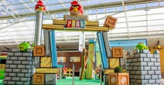 65af0b147073d O São Bernardo Plaza Shopping oferece nestas férias um espaço temático para  os fãs do Angry Birds! Com 200 metros quadrados, a atração conta com  simulador ...