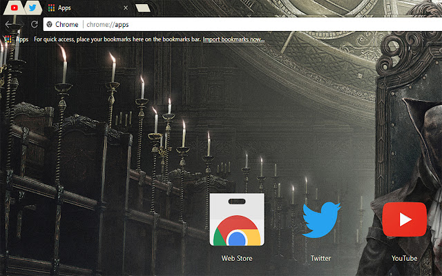 Bloodborne Free Theme FOR Chrome 2017