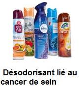 Produits chimiques lié au cancer de sein