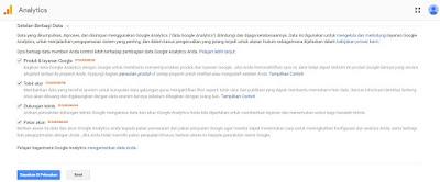 Cara daftar google anaytics