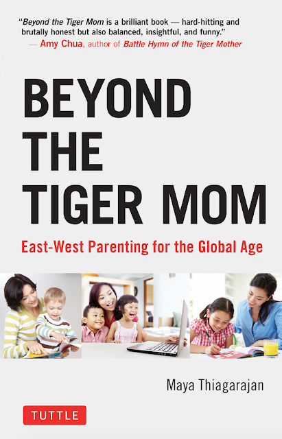 "I was contacted to do a review of a book called ""Beyond the Tiger Mom: East-West Parenting for the Global Age."" The book is about meshing East and West Parenting when it comes to LEARNING!"