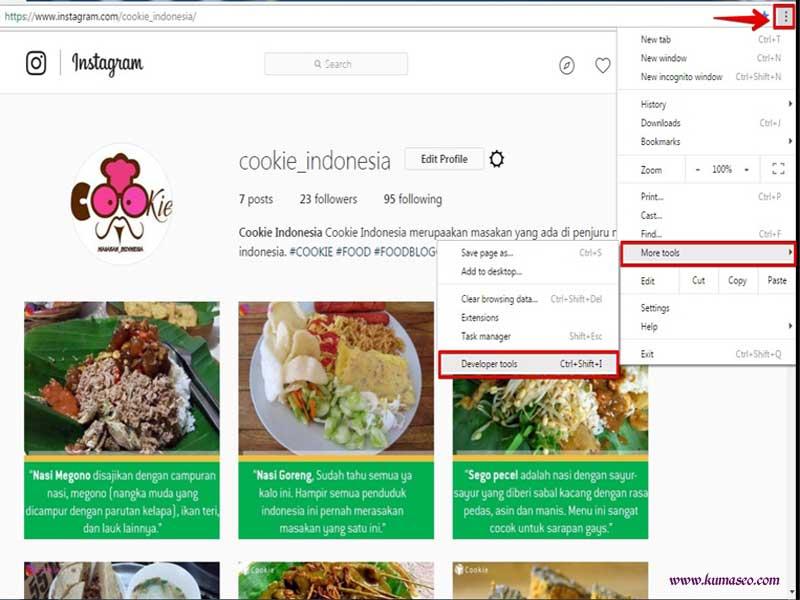 Cara Mengunggah Foto atau Video di Instagram dengan Komputer