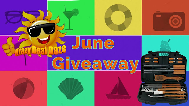 Krazy Deal Daze June Giveaway 2018