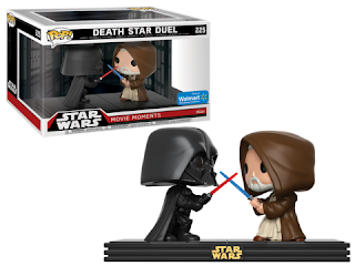 Pop! Star Wars: Movie Moments - Darth Vader & Obi Wan.