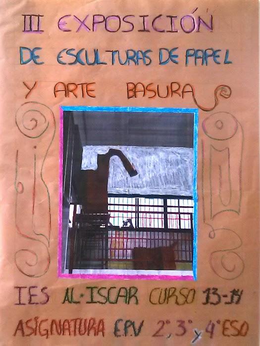 III Exposición de Esculturas de papel y Arte Basura.