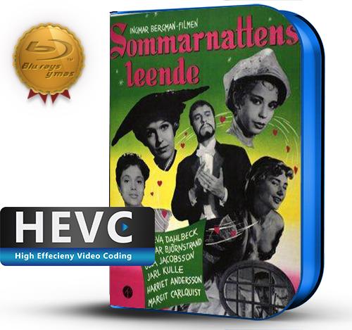 Sommarnattens leende (1955) 1080P HEVC-8Bits BDRip Sueco(Subt.Esp)(Comedia)