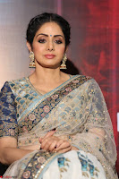 Sri Devi in designer saree stunning beauty at the launch of MOM movie Trailer~  Exclusive 110.JPG