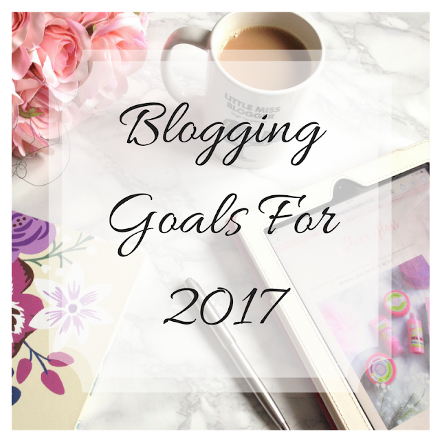 blogging goals for sheer gloss beauty blog
