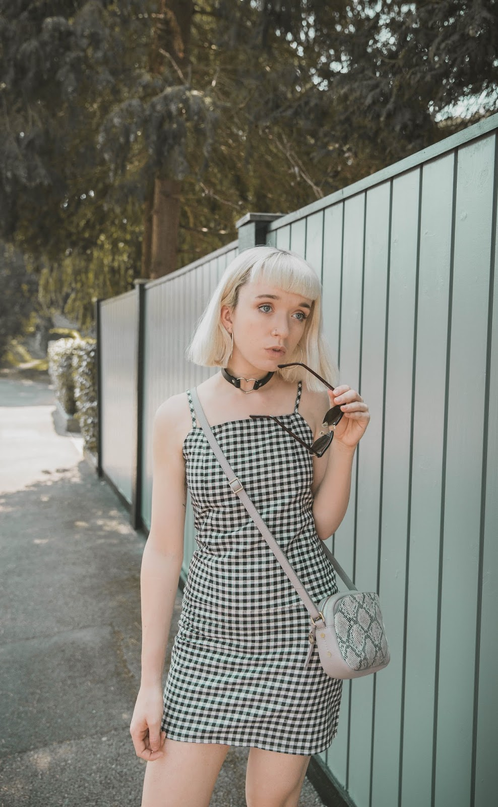 how-to-wear-gingham-dress