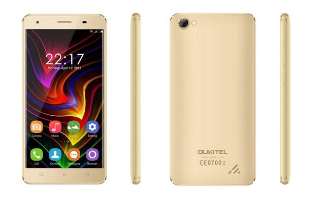Pre Order OUKITEL C5 Dibuka 25 April, Android Nougat dengan RAM 2GB Seharga Rp 600 ribuan