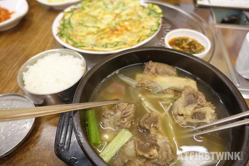 Daega korean bbq restaurant myeongdong seoul korea galbitang beef rib soup