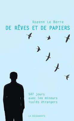 livre de rêves et de papiers Rozenn le Berre