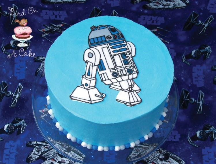 Star Wars Birthday Cake Easy Tutorial