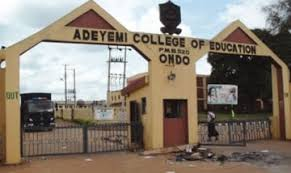 Adeyemi College of Education, Ondo (ACEONDO) NCE Admission Lists