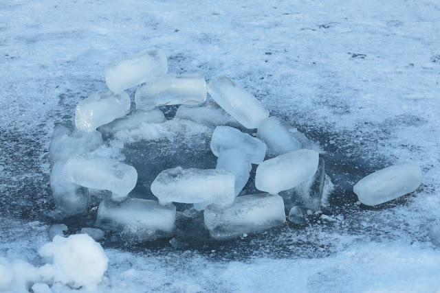 jääpaloja