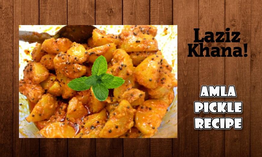 आंवला का अचार बनाने की विधि - Amla Pickle Recipe in Hindi