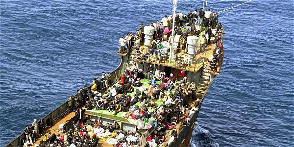 More than 150,000 migrants crossed the Mediterranean in 2015 so far