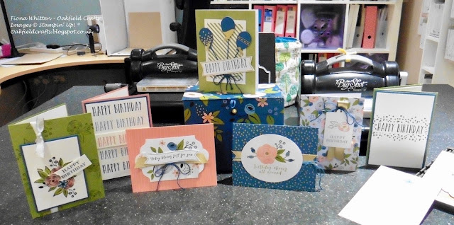 Perennial Birthday, Retirement List, Stampin' Up! UK, Oakfield Crafts