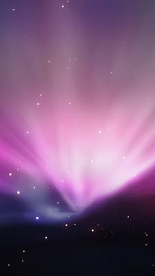 Apple Aurore Sombre - Fond d'Écran en QHD pour Mobile