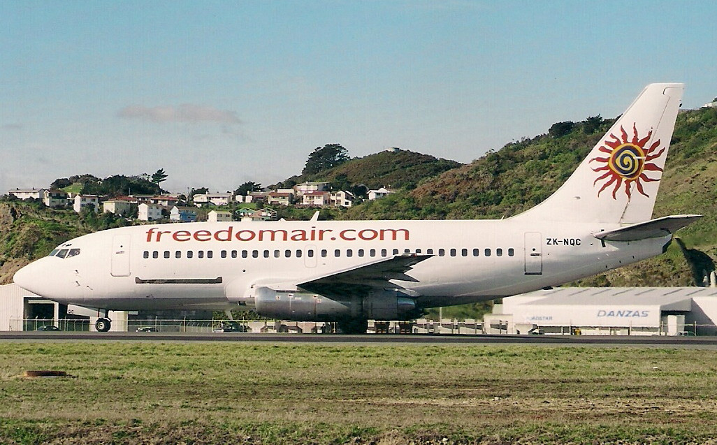 LAST BOEING 737-200 EXITS NZ SKIES -NEW HOME IN CANADA, AND