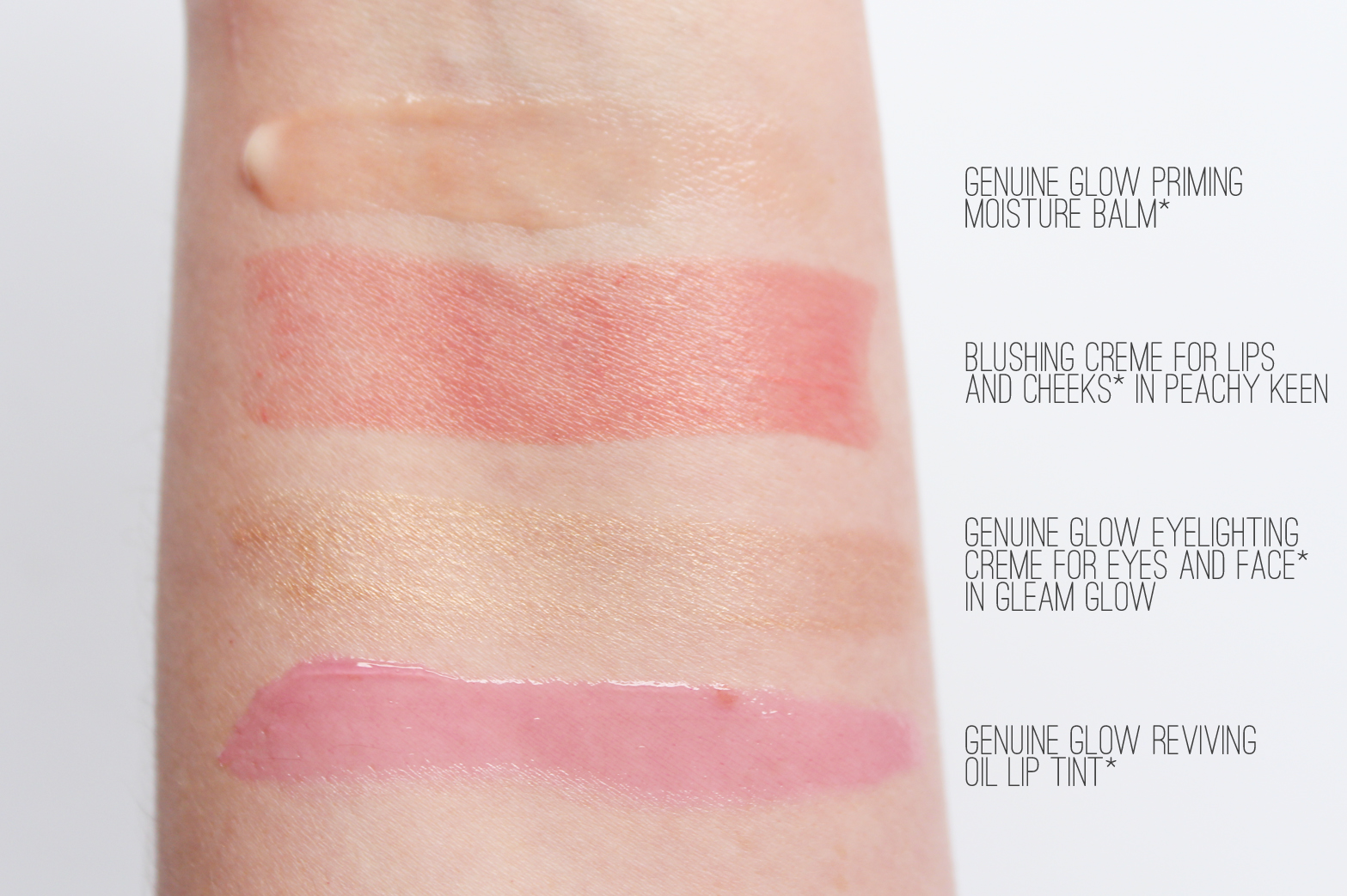 ESTEE LAUDER | Genuine Glow Collection - Review + Swatches - CassandraMyee
