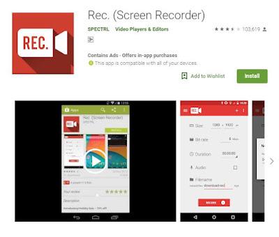3 Aplikasi Perekam Layar Android Terbaik Tanpa Root Terbaru Yang Paling Sering Di Download