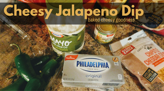 Bubbly, Happy Goodness in a Cheesy Jalapeno Dip #recipe