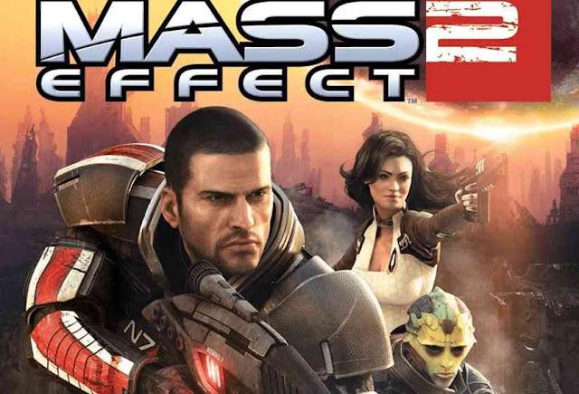 Mass Effect 2 Copertina del gioco