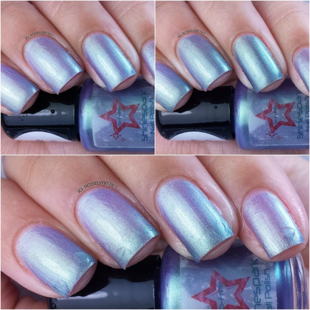 Shine Spark Polish - Purple Martin