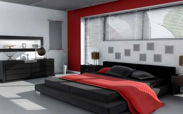 Red Bedroom Design A Creative Decorating