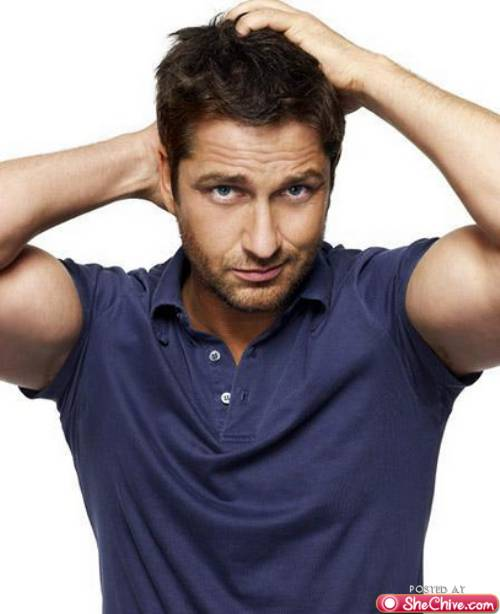 what the heck  trending now     gerard butler sexiest