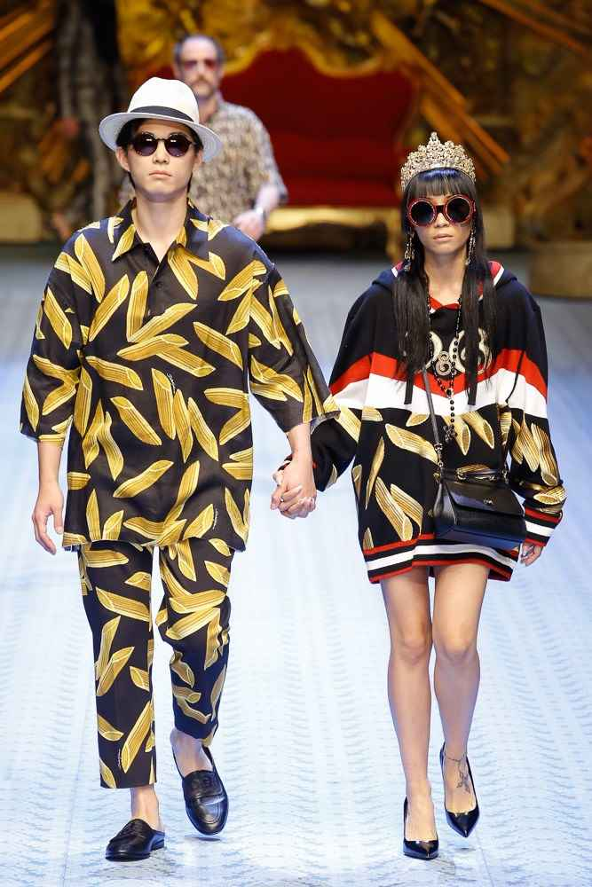 a6eb622fa958 Dolce   Gabbana Spring-Summer 2019 - Milan Fashion Week - Male ...