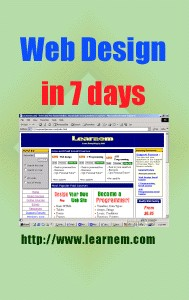 webdesign in 7 days e-book