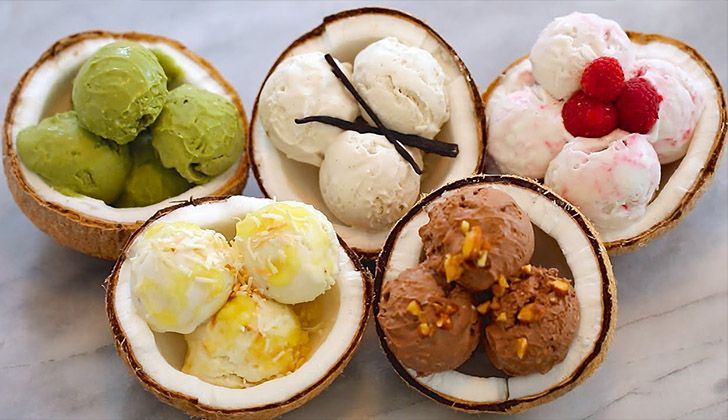 Cambodian Coconut Ice Cream