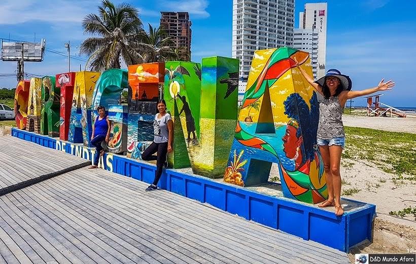 Letreiro de Cartagena - Receptivo em Cartagena: Juan Ballena Travel