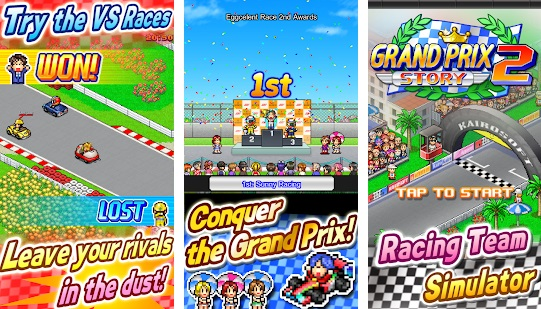 Grand Prix Story 2 Kairosoft Mod Apk