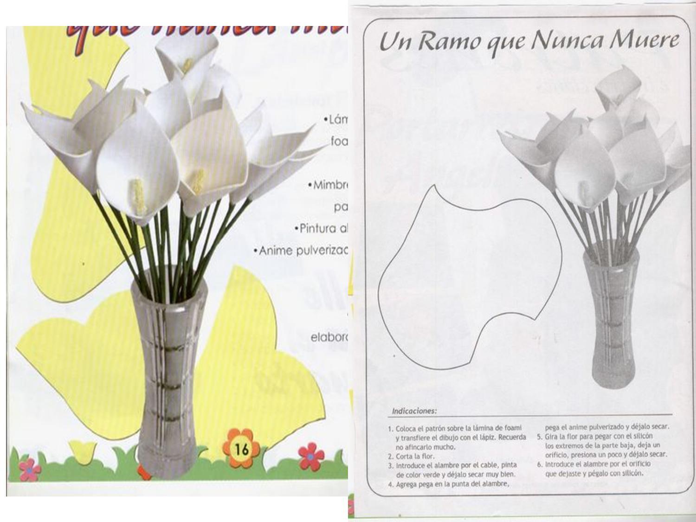 Dia De La Madre Flores En Goma Eva Aires De Fiesta