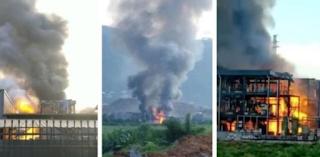 انفجار قاتل في مركز صناعي صيني