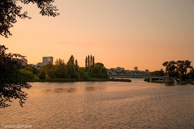 Закат на реке Воронеж