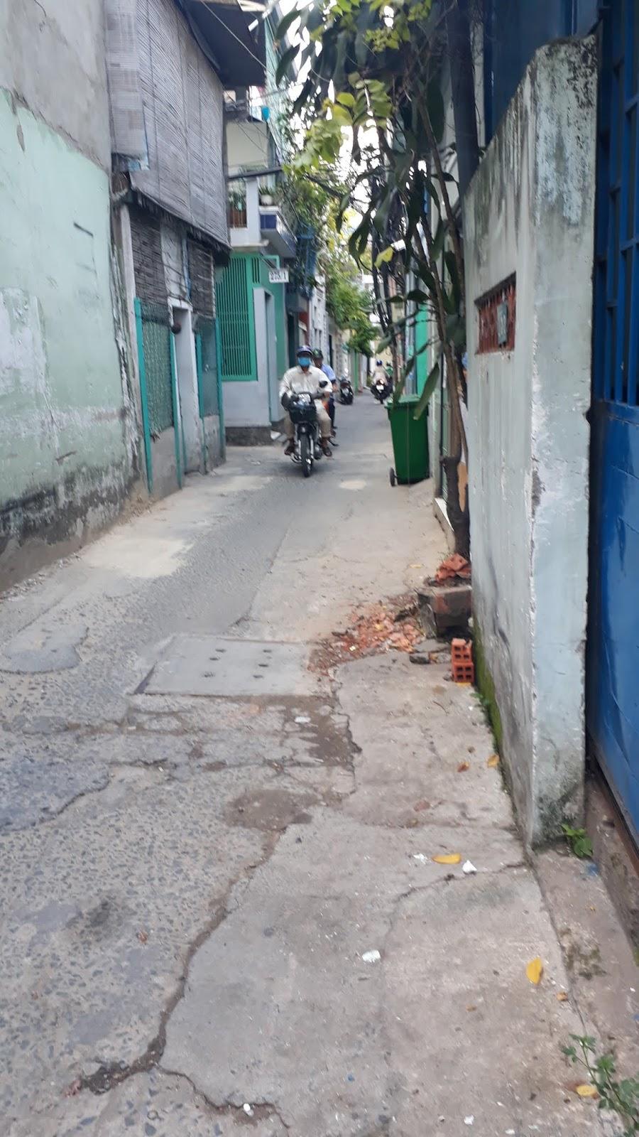 Bán nhà hẻm 275 Bạch Đằng phường 15 quận Bình Thạnh