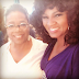 ENTERTAINMENTS:  Omotola Meets  With Oprah Winfrey!