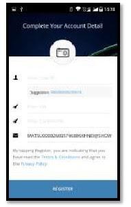Gambar 4 Cara Aktivasi Mandiri Online di Hp