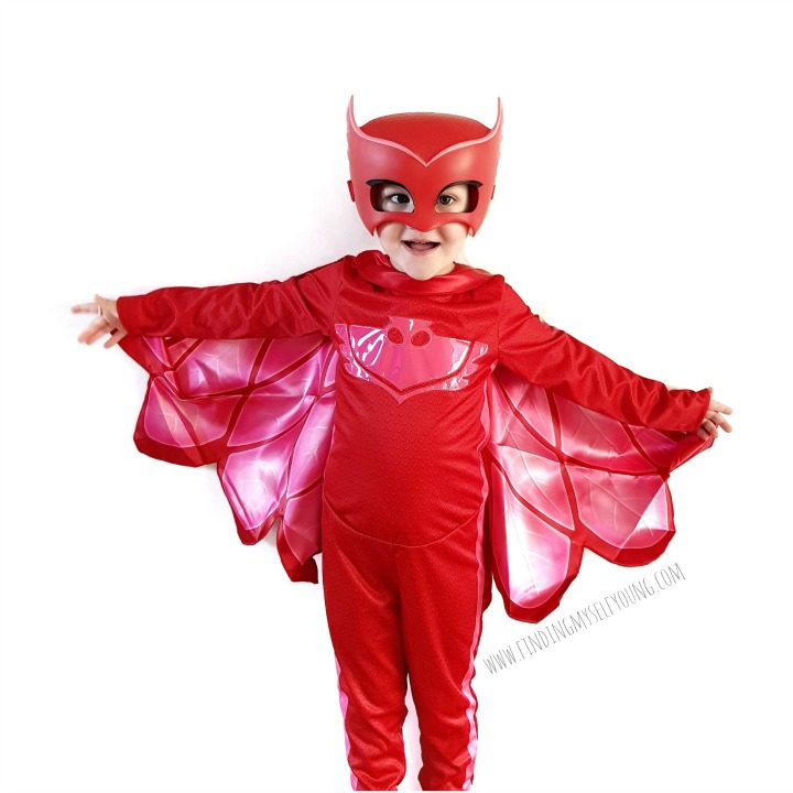Pj Masks Halloween Costume.Finding Myself Young Celebrate Halloween With Pj Masks