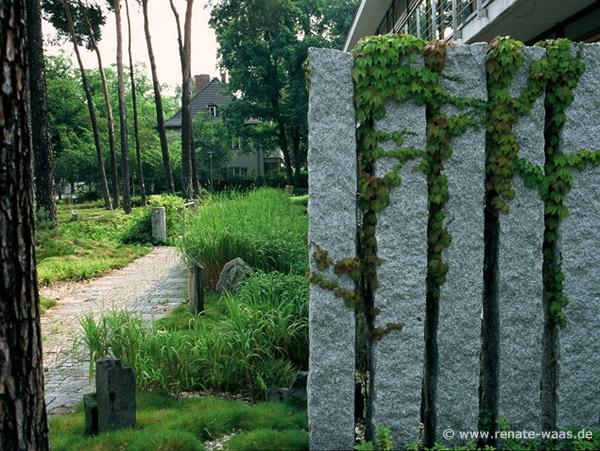 Gartenblog geniesser garten sichtschutz - Langer garten gestalten ...