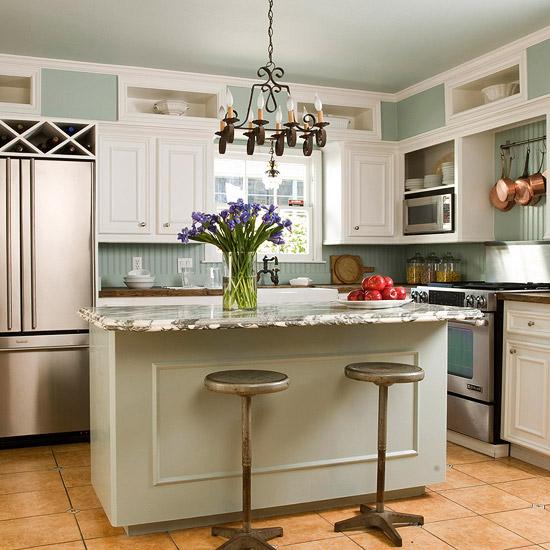 Fotos de cocinas peque as con isla ideas para decorar - Islas de cocina ...