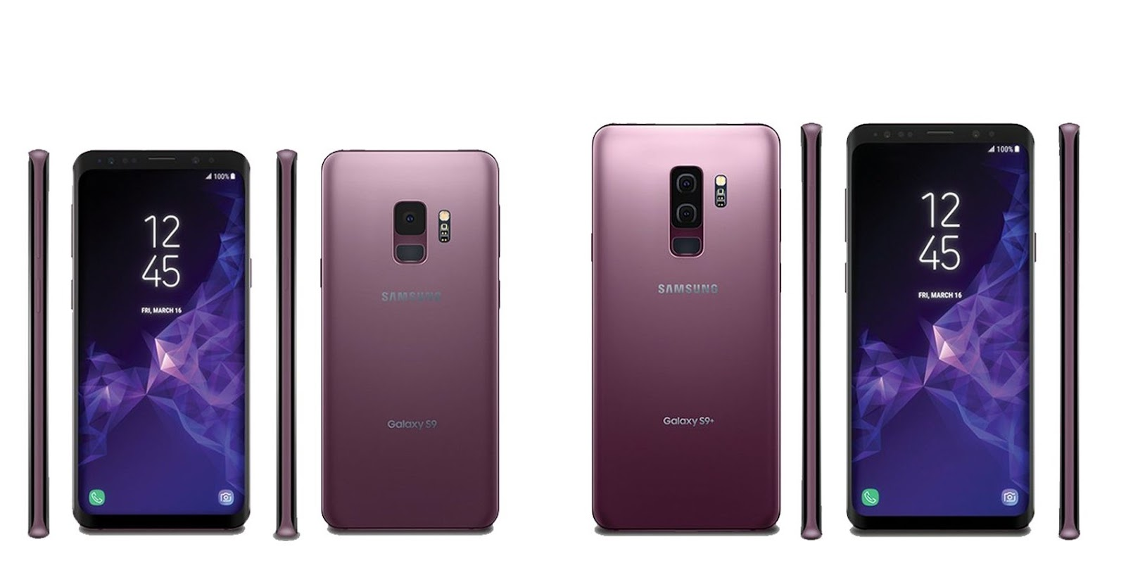 Galaxy S9 smartphones come with 256 GB to Germany