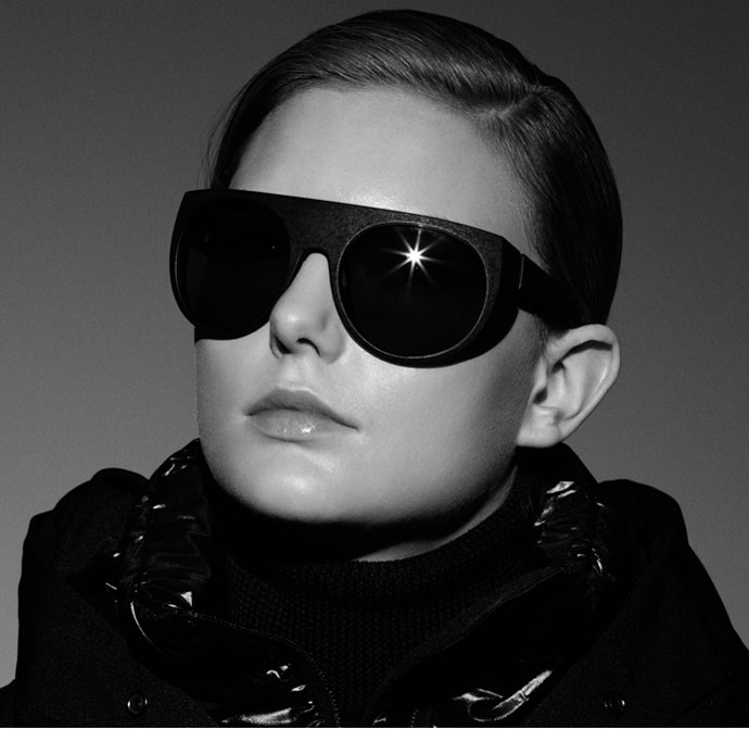 Mykita & Moncler 'Achille': the best winter sunglasses for 2012?